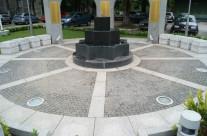 Spomenik poginulim, nestalim i umrlim borcima u Jablanici (BiH)