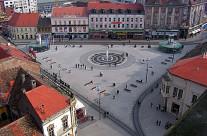 Trg A.Starcevica Osijek (Hrvatska)