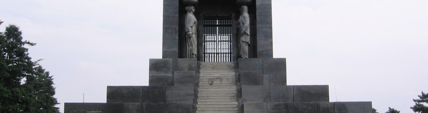 The Unknown Hero Monument on Avala by Belgrade (Serbia)