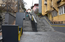 Pruščakova ulica_stepenište u Sarajevu (BiH)