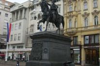 The Ban Jelačić Square, Zagreb (Croatia)